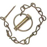 Hitch Pins Round with Chain